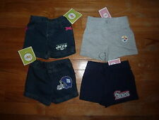 NFL FAN Baby Toddler Girl Shorts ALL teams You choose color, size & team NEW