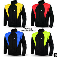 Cycling Jackets Thermal Winter Windproof Long Sleeve Windstopper Size S to XXL