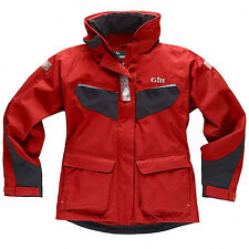 GILL COAST LADIES SAILING WATERPROOF JACKET. LIGHTWEIGHT AND BREATHABLE FABRIC