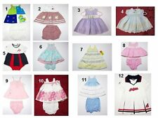 NEW Toddler Kids Infant Baby Girls 1-2 Pc  Bloomers Cheerleading Dress Sz:03,3-6