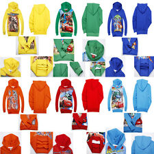 New!hot Kids Baby Boys Girls Hooded Coat Jacket Jumper Ages 2-8years
