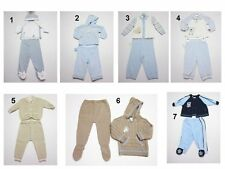 NEW Toddler Infant Baby Boys  Pants Footer Hat Hooded Jacket Sweatsuit Bodysuit