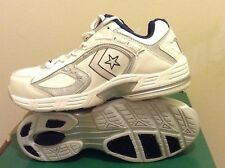 White Converse safety composite toe work tennis shoe boot ASTM airport steel esd