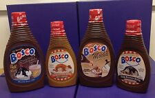 Bosco Syrups- Chocolate, Mocha - New Flavors, SEA SALT CARAMEL, FUDGE BROWNIE
