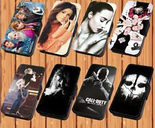 Ed Sheeran Demi Lovato For Faux Leather Flip iPhone & Samsung Galaxy Case Cover