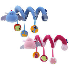 Baby Activity Spiral Crib/Cot Toy Rattle Car Seat/Stroller/Pram Doll Infant Gift