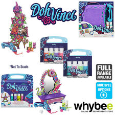 PLAY-DOH DOHVINCI SETS DOOR DÉCOR ANYWHERE ART STUDIO FLOWER & MORE! + REFILLS!