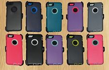 "New Defender Rugged Series Durable Triple Layer iPhone 6 4.7"" Case + Holster"
