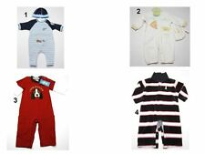 NEW Infant Baby Boys Romper Coverall Jumpsuit Creeper Shortall Sz:0-3,3-6,6-9,6-