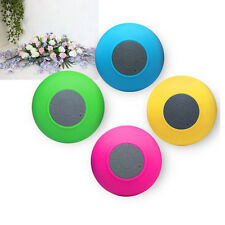 Mini Bluetooth Waterproof Speaker Receive Call Portable Stereo Handsfree Shower