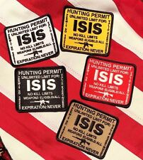 ISIS Hunting Permit Patch