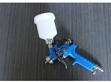 Mini HVLP Gravity 1.0mm Tips Nozzle Air Spray Gun with 125ml cup  0.8/1.0mm