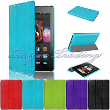 "For Amazon 2014 Kindle Fire HD 6"" Magnetic Slim PU Leather Case Cover Sleep/Wake"