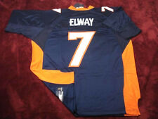 #7 JOHN ELWAY DENVER BRONCOS NAVY BLUE SUPER BOWL NFL SEWN JERSEY - CHOOSE SIZE