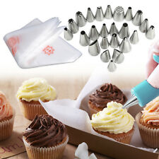 Icing Piping Nozzles Disposable Bag for Cake Sugar Craft Fondant Decorating Tool