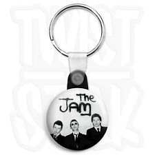 The Jam - In The City Keyring Button Badge - 25mm Mod Keyrings, Zip Pull Option