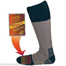 Heat Factory Heated Socks - Great For Skiing, Walking In The Cold, Camping