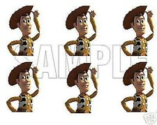 TOY STORY Frosting Circles Edible Cupcakes Images