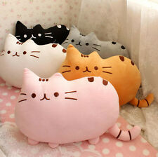 New Stuffed Puppy Cat Print Plush Soft Animal Pillow For Bed Sofa Couch 40*30cm