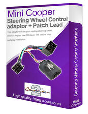 Mini Cooper car stereo adapter lead, Connect your Steering Wheel stalk controls