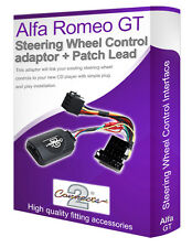 Alfa Romeo GT car stereo adapter, Connect your Steering Wheel stalk controls