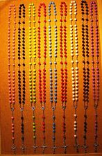 rosary acrylic beads(multicolour)
