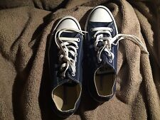 CONVERSE All Star Size UK 6 low Unisex navy blue