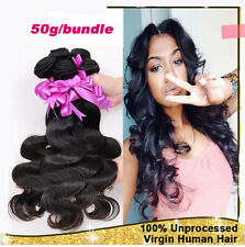 3bundles/150g 100% 6A unprocessed Virgin Brazilian Hair Extension Body Wave