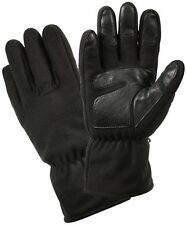 BLACK Military Tactical Micro Fleece All Weather Casual Outdoors Gloves 3470