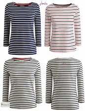 JOULES WOMENS HARBOUR (S) STRIPED JERSEY TOP NEW FOR 2015 STYLE RRP £24.95