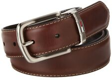 BRAND NEW TOMMY HILFIGER MEN'S REVERSIBLE LEATHER BELT Brown/Black Dress Belt