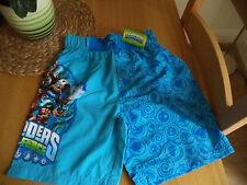 Boys Swimming Trunks Board Shorts Skylanders 5-6 7-8 9-10 years  BNWT FAST POST