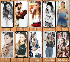 for iPhone 5/5S hard case Ariana Grande - add message if need iphone 6 6 plus