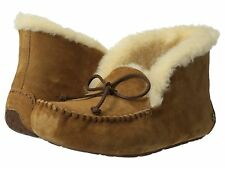 Women's Shoes UGG Australia Alena Moccasin Slippers 1004806 Chestnut *New*
