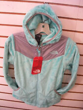 THE NORTH FACE GIRLS OSO HOODIE FLEECE JACKET -#APZE-  M, L, XL- MINT BLUE