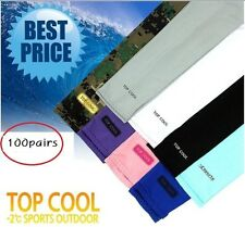 100pairs UV Protection Arm Sleeve Cooling Sleeves Golf Cycle Bike Driving cool