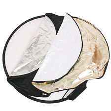 5-IN-1 GRIP COLLAPSIBLE REFLECTOR One Touch Folding/Unfolding 5 Effect Kit u