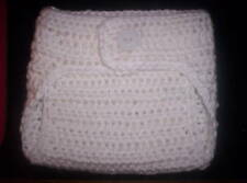 Crocheted BABY DIAPER COVER * You Choose Color * 0-3 months Photo Prop