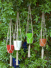 Macrame plant hangers. Ideal Christmas present, Stocking Fillers.