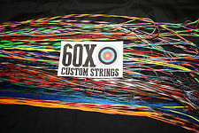 60X Custom Strings String and Cable Set for 2002 Bowtech Pro 40 Bow Bowstring