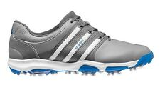 NEW IN BOX 2015 MENS ADIDAS TOUR 360 X GOLF SHOE GREY SIZE 8.5 - 13 MEDIUM