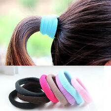 UU Colorful Girls Elastic Hair Tie Band Rope Ring Scrunchie Ponytail Holder E176