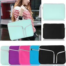"Sleeve Zipper Pocket Carry Bag Case For Apple 11"" 13"" 15"" MacBook Pro Retina Air"