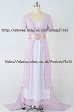 Titanic Cosplay Rose Purple Swim Gown Dress Costume Cosplay Party Convention