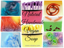 Natural Handmade in UK Soap Slices 100g per slice Essential Oils, Vegan Mild NEW