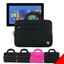 """Kozmicc Handle Carry Sleeve Cover Case For Microsoft Surface Pro 3 12"""" Tablet"""