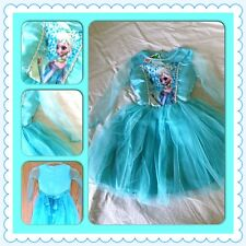 PRINCESS ELSA FROZEN DRESS COSTUME DRESSING UP PARTY DISNEY 3 4 5 6 7 8 YEARS
