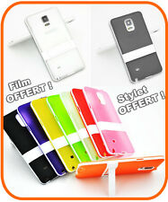 House Coque Flip Stand Silicone  Etui Cover Case pour Samsung Galaxy Note 4 N910