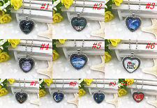 "HOT!!! ""I LOVE YOU TO THE MOON AND BACK"" Photo Alloy Necklaces & Pendants"