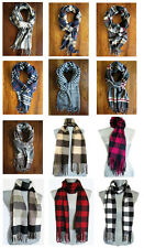 Cashmere Blended Plaid & Checkered Scarves - Women, Men, Unisex cool hip trendy